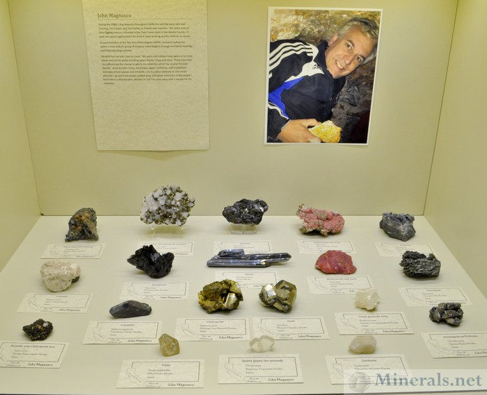 John Magnasco Minerals from Japan Springfield Show