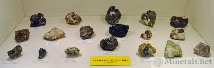 Garnet from Franklin & Sterling Hill NJ